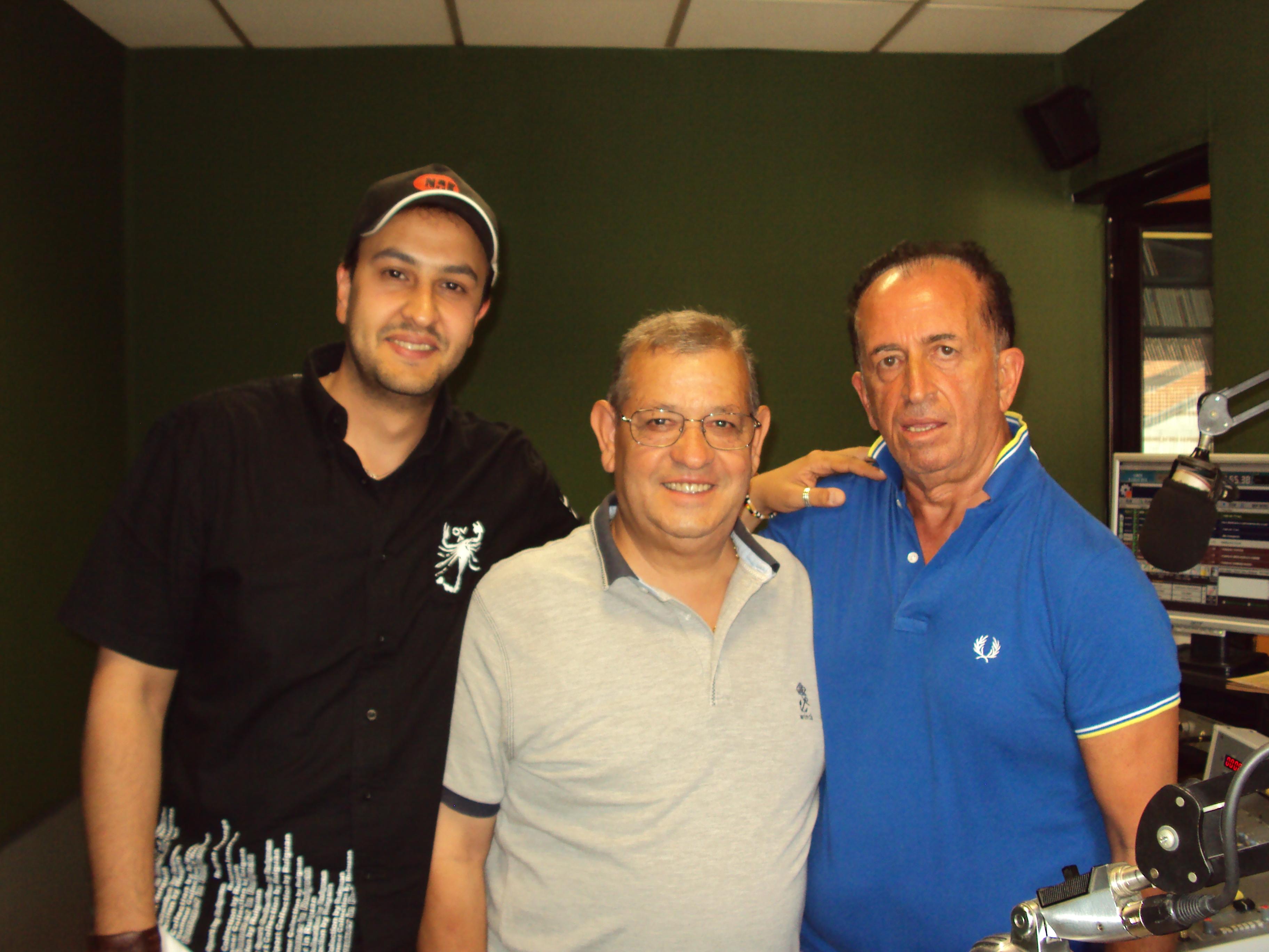 Presentazione Cd a Radio Monte Velino